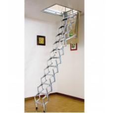 Escada de sotão Pantografo